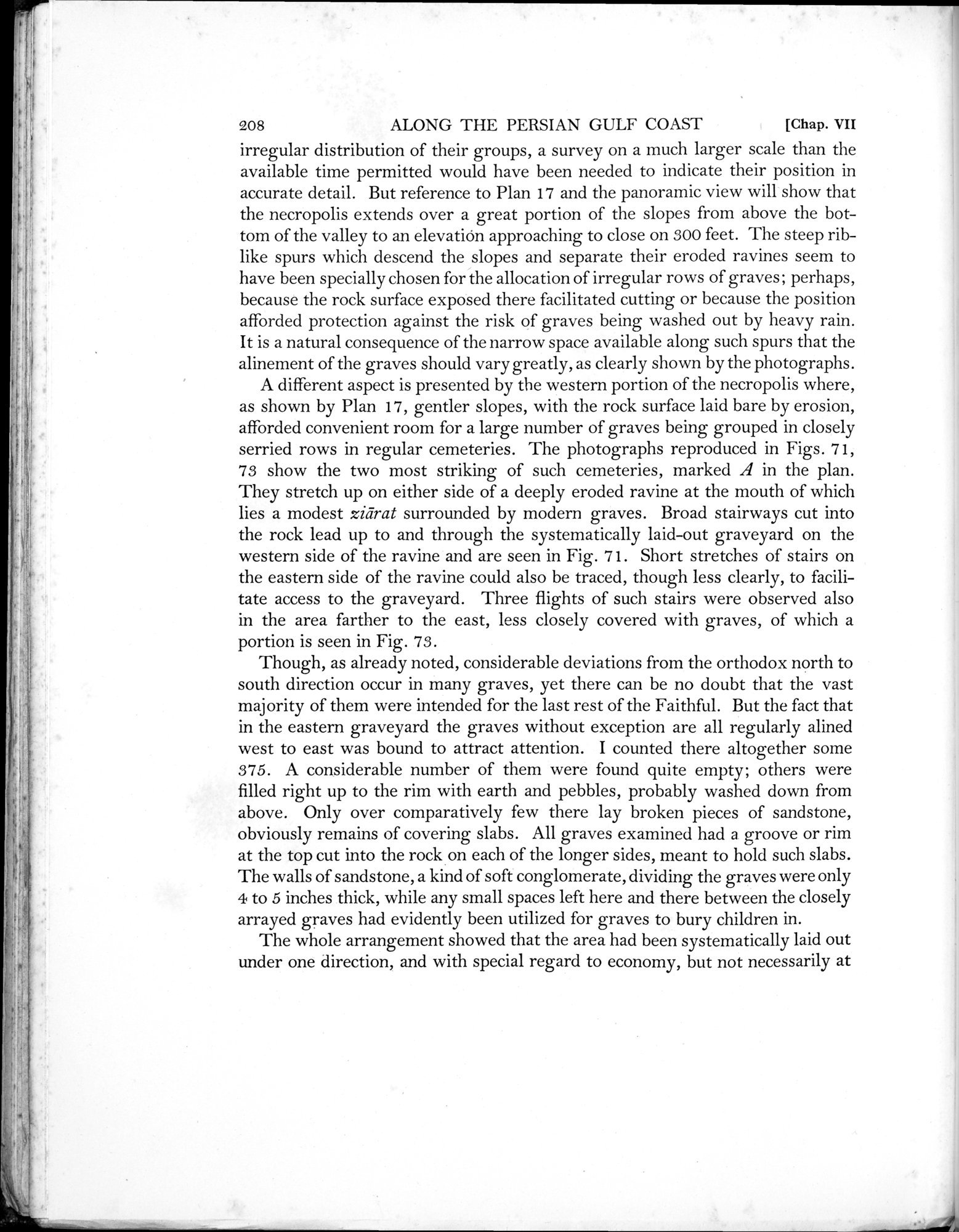 Archaeological Reconnaissances in North-Western India and South-Eastern Īrān : vol.1 / Page 280 (Grayscale High Resolution Image)