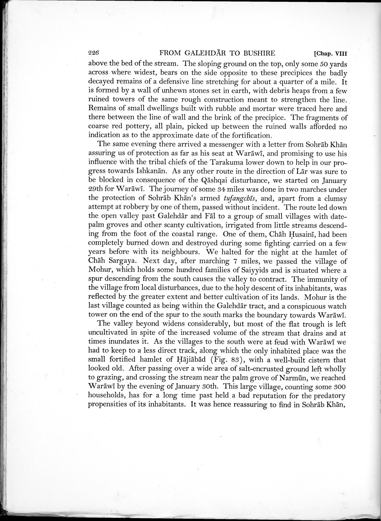 Archaeological Reconnaissances in North-Western India and South-Eastern Īrān : vol.1 / Page 308 (Grayscale High Resolution Image)