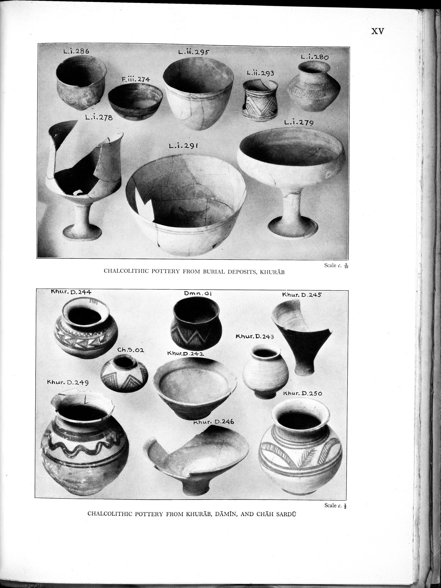 Archaeological Reconnaissances in North-Western India and South-Eastern Īrān : vol.1 / Page 381 (Grayscale High Resolution Image)