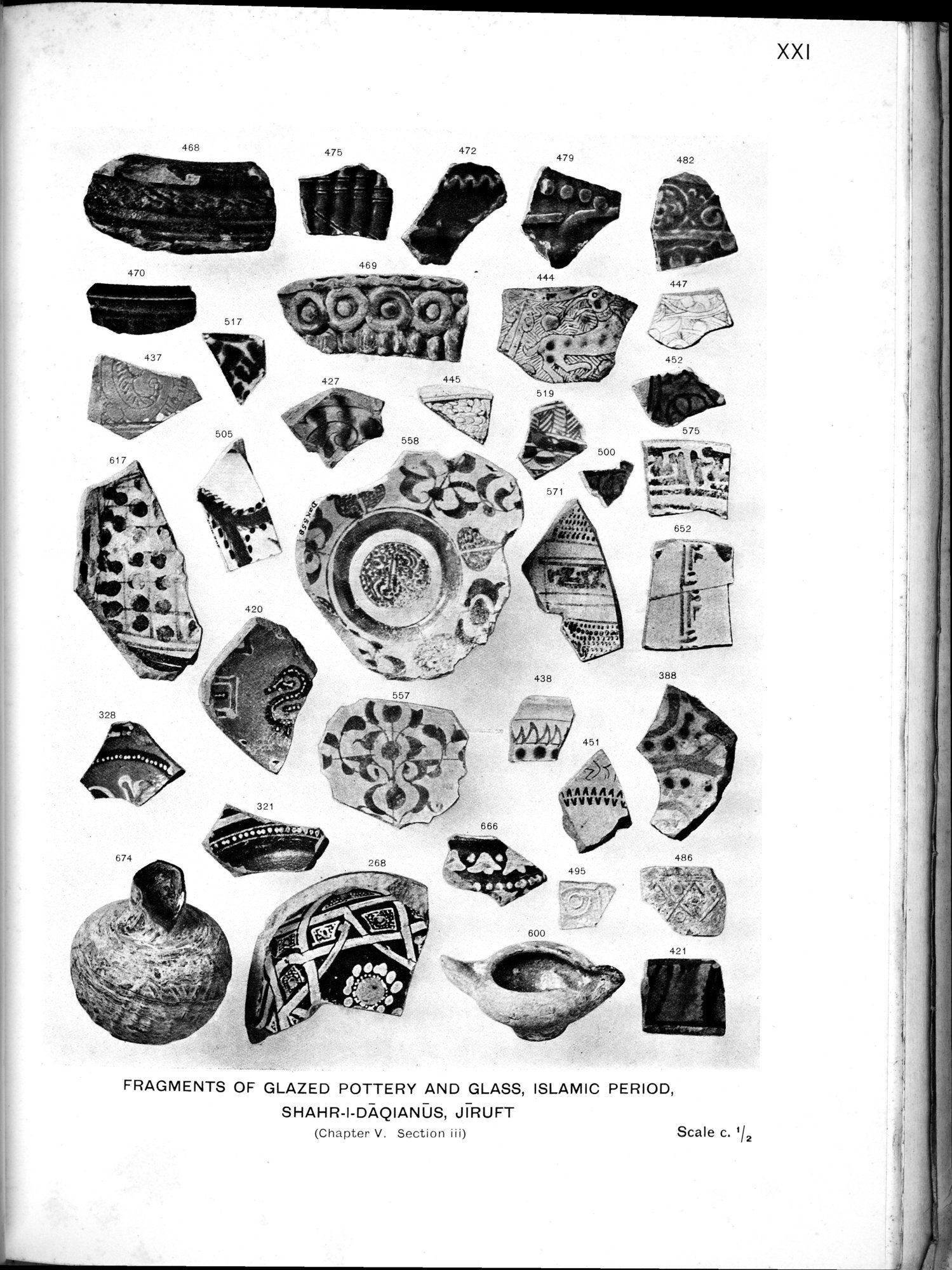 Archaeological Reconnaissances in North-Western India and South-Eastern Īrān : vol.1 / Page 393 (Grayscale High Resolution Image)